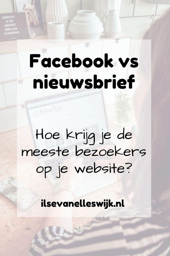 facebook vs nieuwsbrief meer bezoekers website