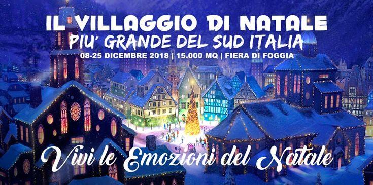 Il Villaggio di Natale a Foggia