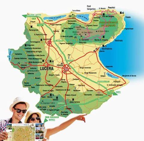 Cartina Geografica San Giovanni Rotondo.Tavoliere Monti Dauni E Gargano Uniti Nel Nome Del Turismo