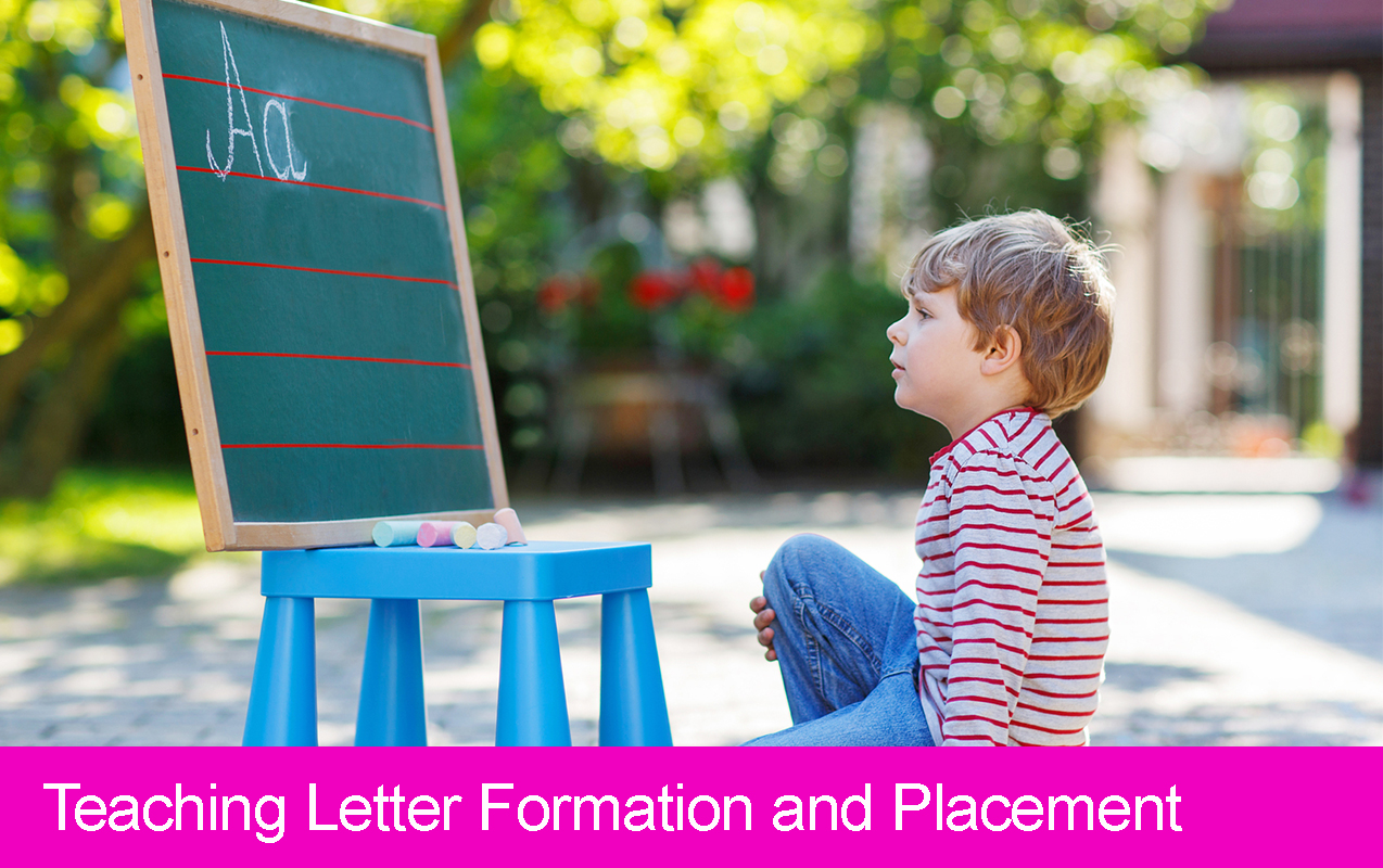 Teaching Letter Formation And Placement