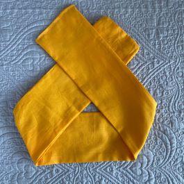 Fascia adulto giallo senape