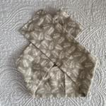 Fascia piume grigie bimba