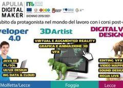 Partono i nuovi corsi biennali dell'ITS Apulia Digital Maker