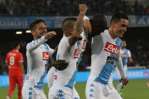 Napoli come Massimo Troisi, ha l'incubo di Cimmino e Balocco: Napoli Fiorentina 4 a 1