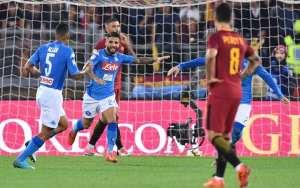 Roma Napoli 0-1: il Napoli vince a Roma e sogna con i Ricchi e Poveri