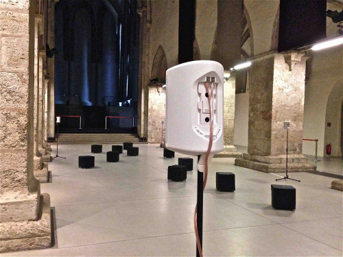 Michael J. Schumacher, sound installation in Krems, 2014