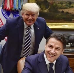 """Trump sponsorizza Conte: """"La UE segua l'Italia"""", i due Paesi mai così vicini"""
