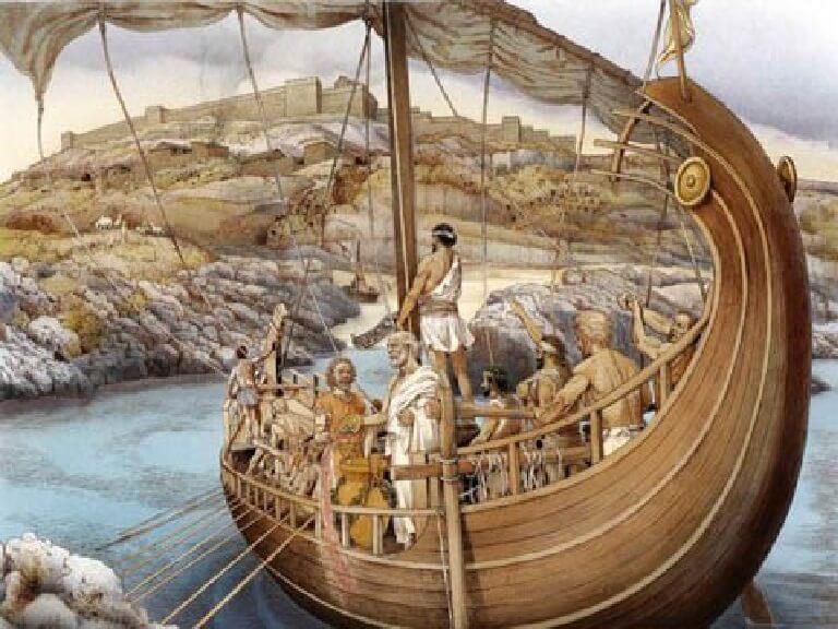 Dal naufragio a largo delle coste turche alle sventate morti in mare dell'Eneide
