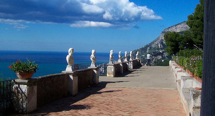 Ravello: il paradiso terrestre che ha incantato Boccaccio, Woolf e Wagner