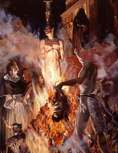 Morire per i propri ideali, coraggio o super-ego? L'esempio di Braveheart e Giordano Bruno