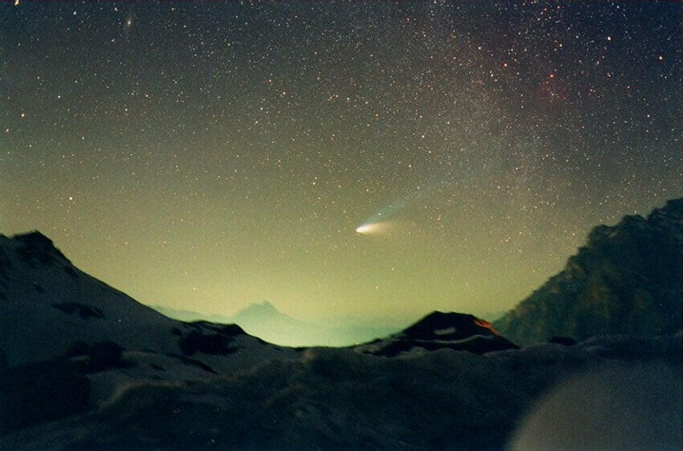 I telescopi hanno catturato la cometa Borisov proveniente dagli estremi del Sistema Solare