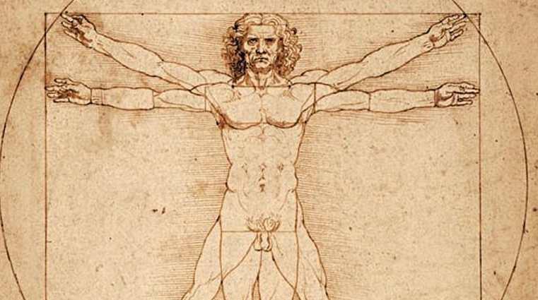 Ecco perché non saremo mai perfetti come l'uomo vitruviano di Leonardo