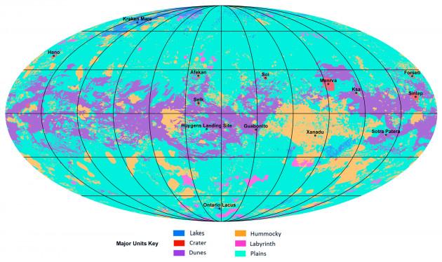 Adesso conosciamo la mappa del satellite Titano, ma come erano le prime mappe geografiche?