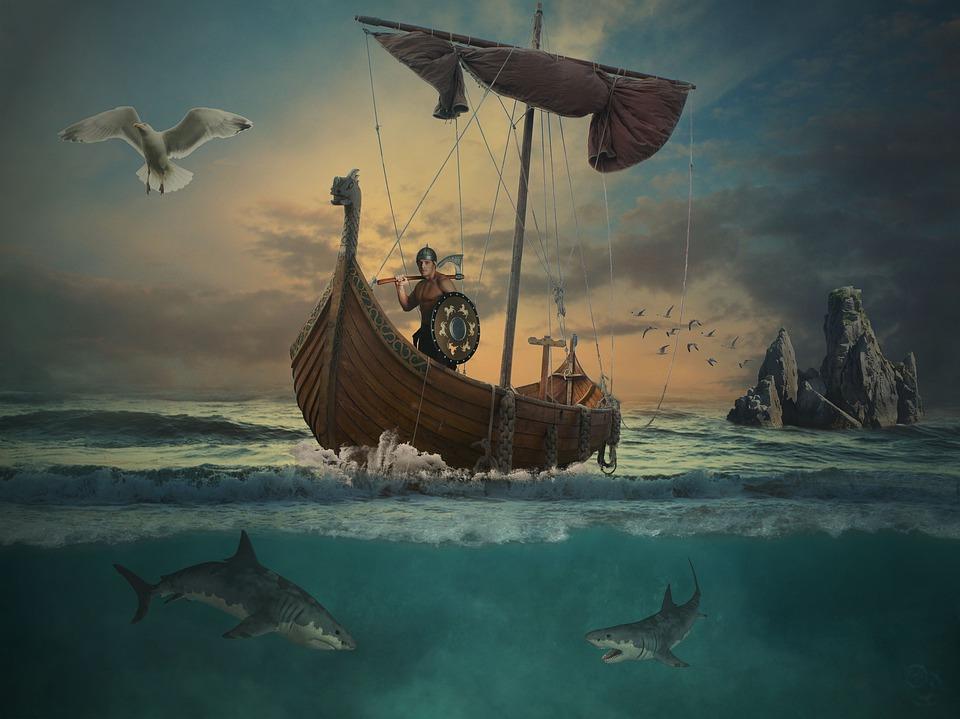 Le battaglie di Azio e di Parigi hanno cambiato la storia romana e di Vikings