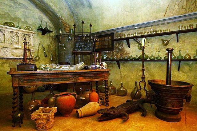 Laboratorio dell'alchimista