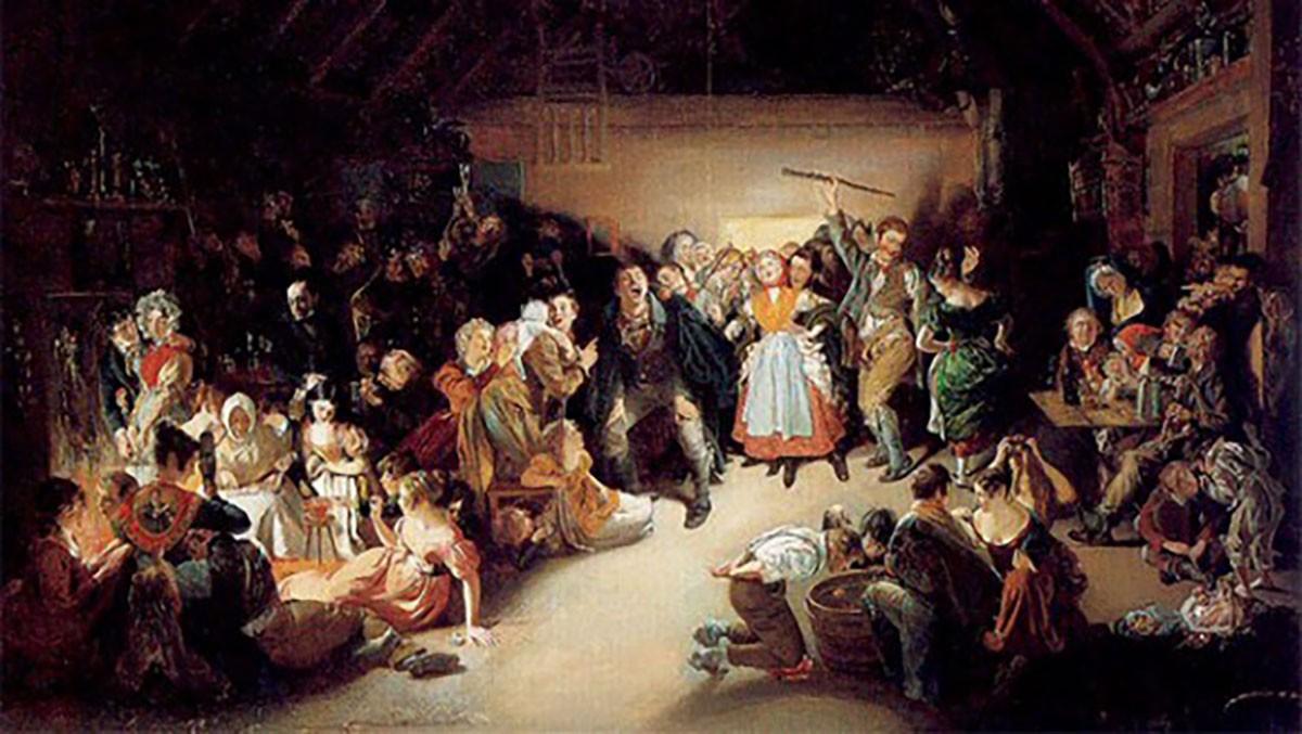 Come festeggeremmo Halloween se vivessimo nell'Inghilterra dell'Ottocento? Forse in modo non tanto diverso da oggi