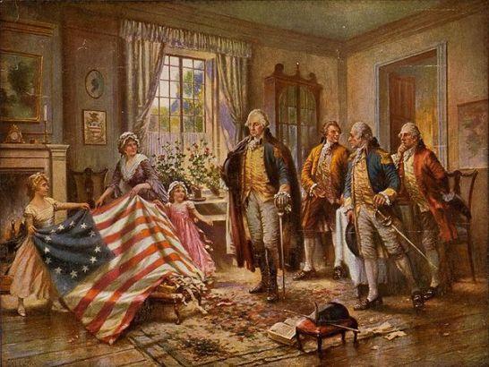 La nascita della bandiera americana (Beleaf magazine)