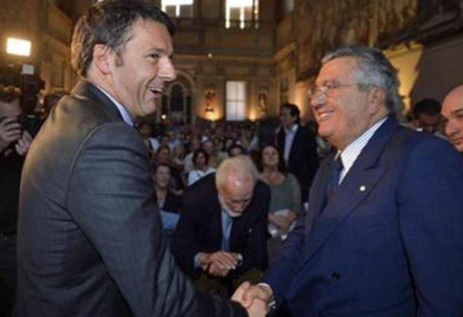 Matteo Renzi & Carlo De Benedetti, caso banche Popolari