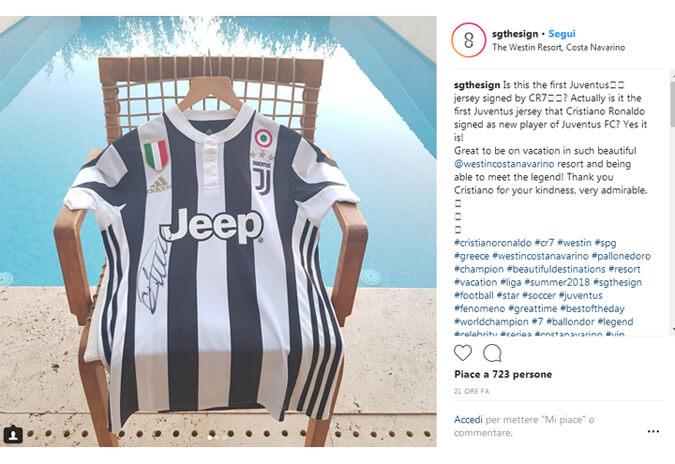 Cristiano Ronaldo alla Juventus Ultime notizie foto Cuadrado cede la maglia numero 7 con un tweet
