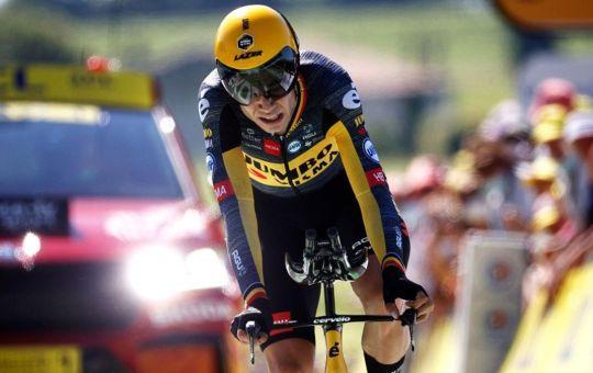 Tour de France. Van Aert vince la 20^ tappa a cronometro da Libourne a Saint Emilion
