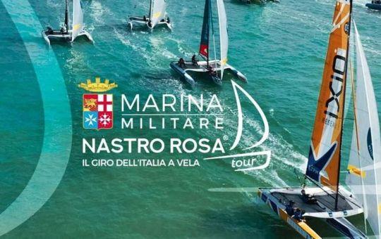 Al via il Nastro Rosa Tour 2021 di vela. Il 2 e 3 settembre farà tappa a Gaeta