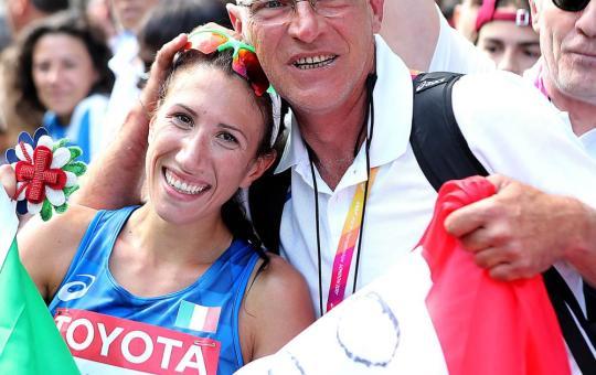 Patrizio Parcesepe l'allenatore pontino di Stano e Palmisano, i due ori nella 20 km di marcia
