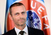 """Emergegenza Coronavirus, Ceferin: """"Concludere i campionati? Difficile dirlo. Rinvio Euro 2020 soluzione"""""""