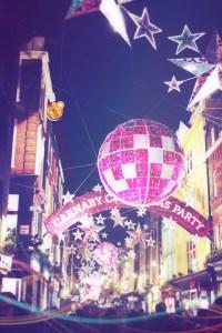 Carnaby Street a Dicembre Londra
