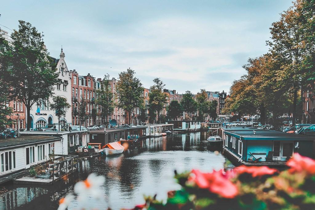 panorama di Amsterdam