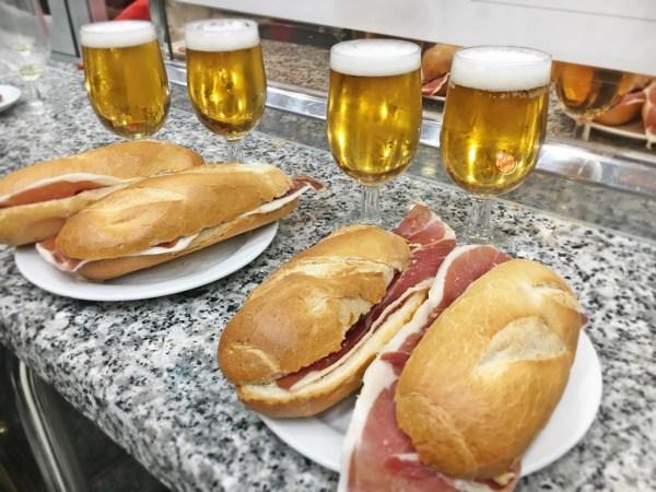 museo del jamòn Madrid cucina spagnola