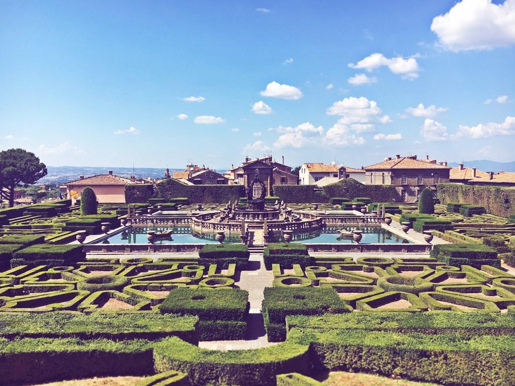 Villa lante Bagnaia Viterbo
