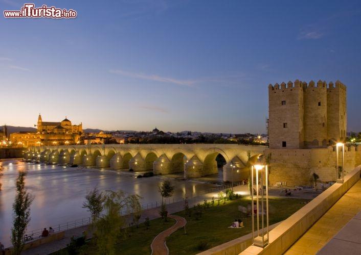 Il ponte romano di Cordova Cordoba con limponente   Foto Cordova