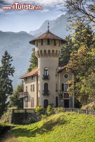 Il castello di Villa la Dianella in Val di Ledro   Foto Molina di Ledro