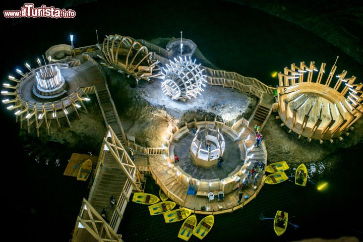 Un vero parco giochi dentro alla miniera   Foto Turda