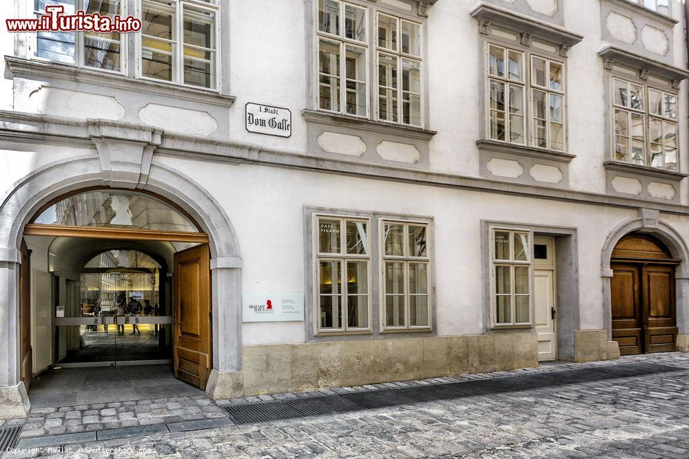 Il museo della Casa di Mozart a Vienna dove   Foto