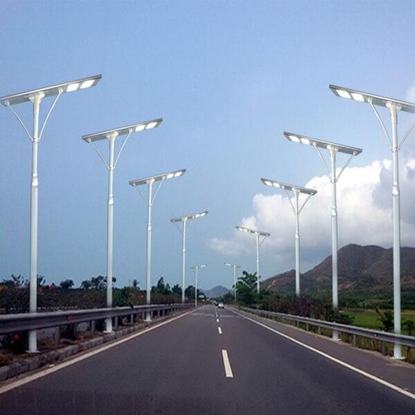 Lampara solar para avenidas y autopistas  Ilumina
