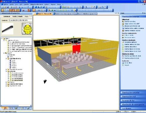 Software para el dise o de iluminaci n iluminet for Proyecto restaurante pdf