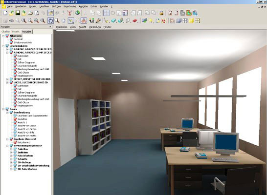 Software para el diseo de iluminacin   iluminet