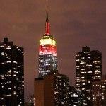 El Empire State se ilumina para celebrar el año nuevo chino