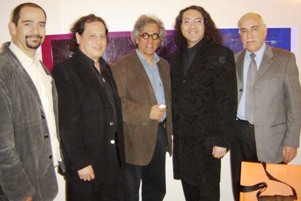 Luis Juan López Barreiro, Enrique Quintero, Gustavo Avilés, Ricardo Noriega y Sergio García Anaya