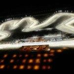 Más de 3 mil lámparas iluminan el Gran Premio de motociclismo en Qatar
