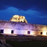 Después de más de 30 años, se moderniza la iluminación en Uxmal