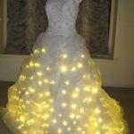 Vestido de novia con LEDs