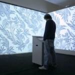 OLEDs en papel tapiz para iluminar habitaciones