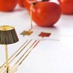 Lámpara energizada por… ¡tomates!