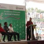 Inaugurado oficialmente el Viaducto Bicentenario hasta el Lago de Guadalupe