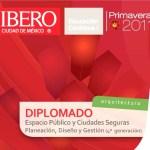 UIA invita a diplomado Espacio Público y Ciudades Seguras