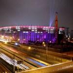 Las voces de los espectadores iluminan el Estadio Nacional de Perú