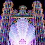Catedral de LEDs acapara la atención en Bélgica