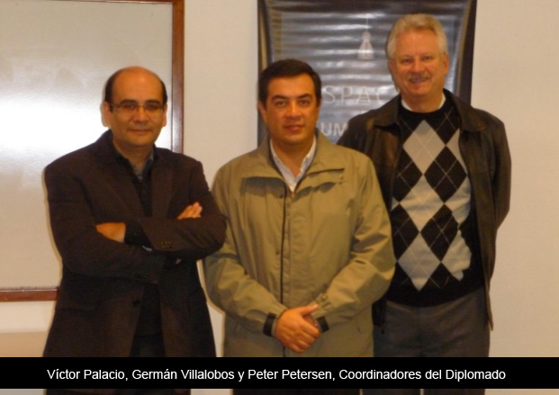 Germán Villalobos, Javier Villaseñor, Víctor Palacio, Héctor Rivero y Ricardo Pérez